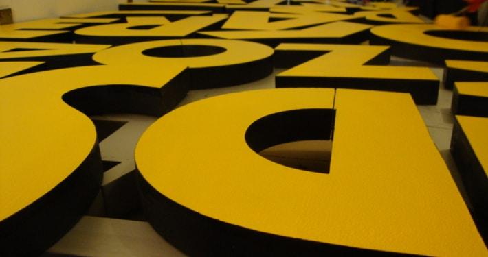 litery przestrzenne 3d nowy sącz