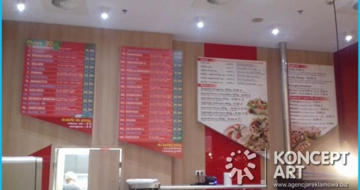 mielec pizzeria agencja reklamowa konceptart nowy sącz