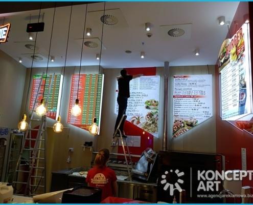 pizzeria w galerii kraków agencja reklamowa konceptart nowy sącz