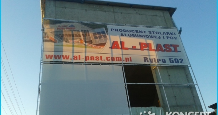 siatka alplast drukarnia wielkoformatowa nowy sącz bnery
