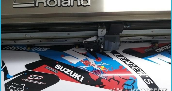 druk naklejek roland drukarnia wielkoformatowa nowy sącz bnery