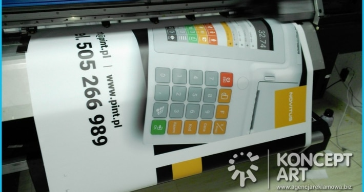 drukowanie banerów drukarnia wielkoformatowa nowy sącz bnery