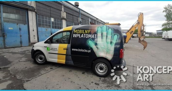 bankowóz łącko Oklejanie samochodów Nowy Sącz