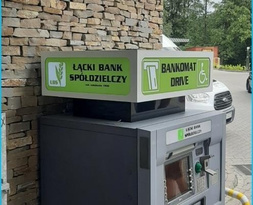 bankomat bs lacko reklama świetlna kasetony nowy sącz